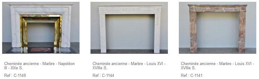 La cheminée ancienne en marbre : pour un intérieur contemporain
